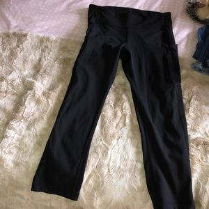 Lululemon speed up cropped leggings